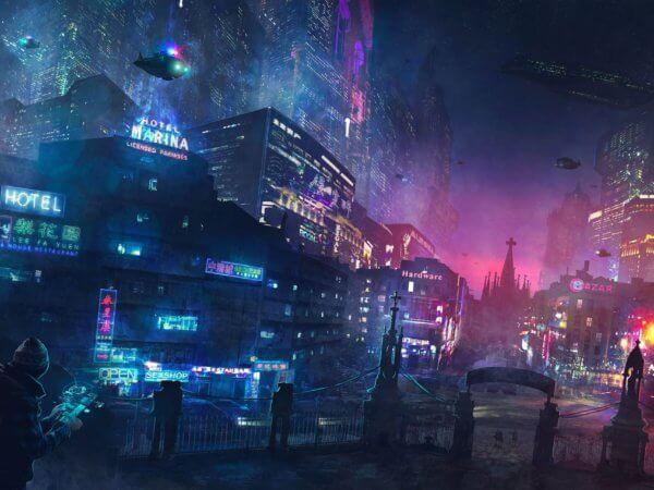 Cyberpunk-Abenteuer Palladrium Titelbild3