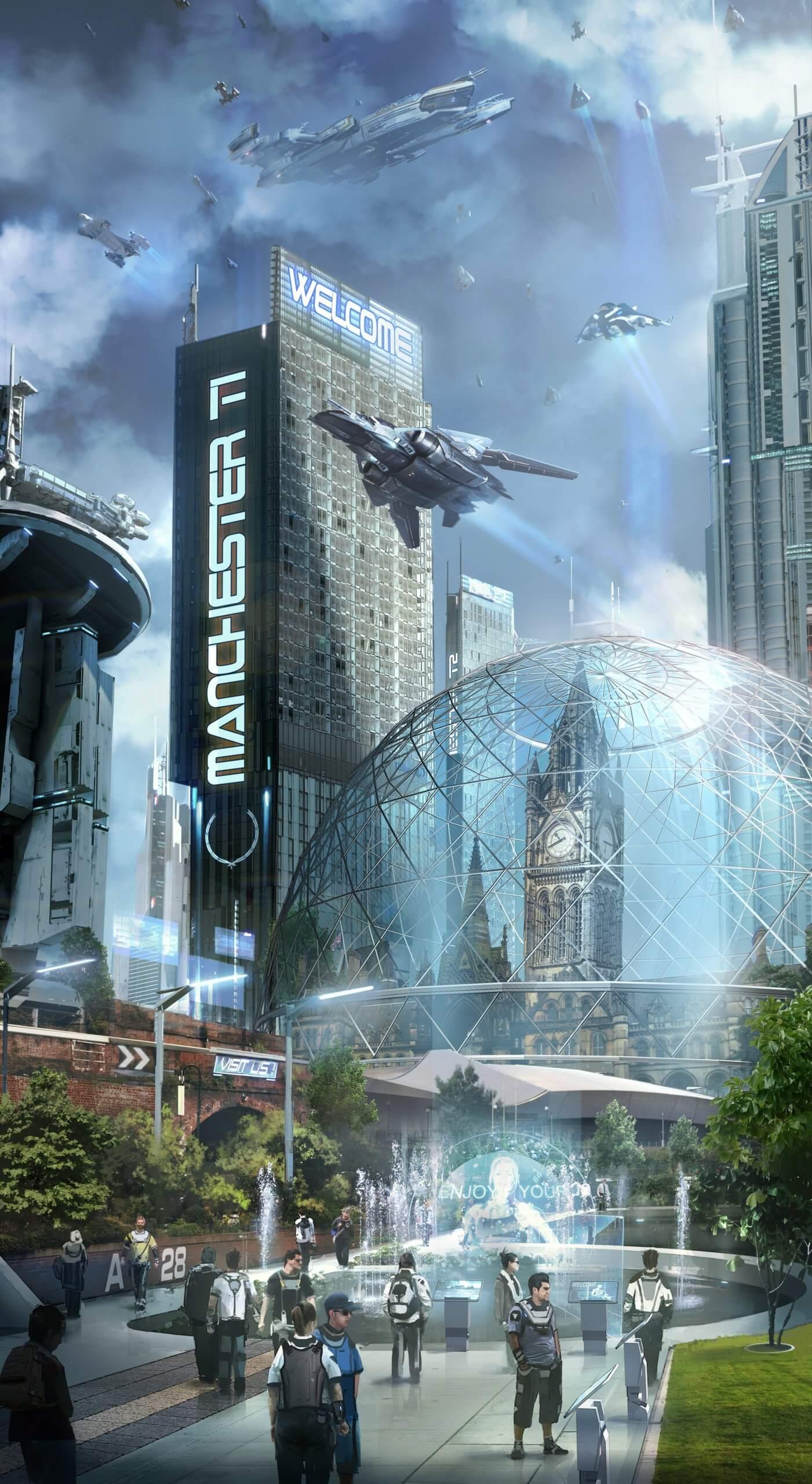 """Cyberpunk-Abenteuer """"Palladrium"""""""